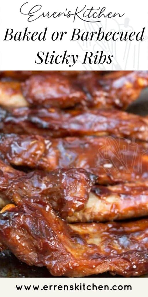 sticky ribs ready to eat