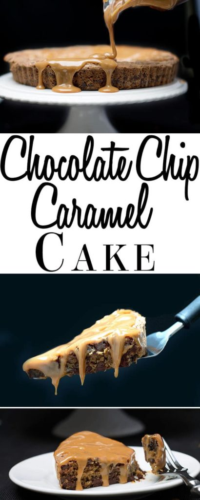 For the ultimate indulgence look no further than this recipe for Chocolate Chip Caramel Cake. From Erren's Kitchen