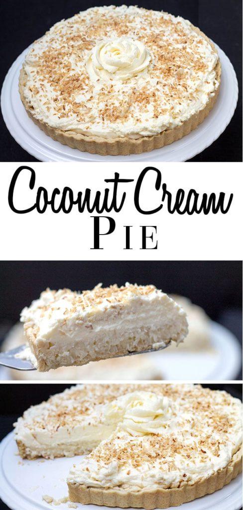 Coconut Cream Pie - Erren's Kitchen