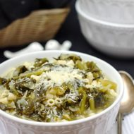 Escarole & Pasta Soup