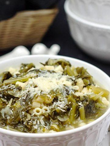 Escarole & Pasta Soup