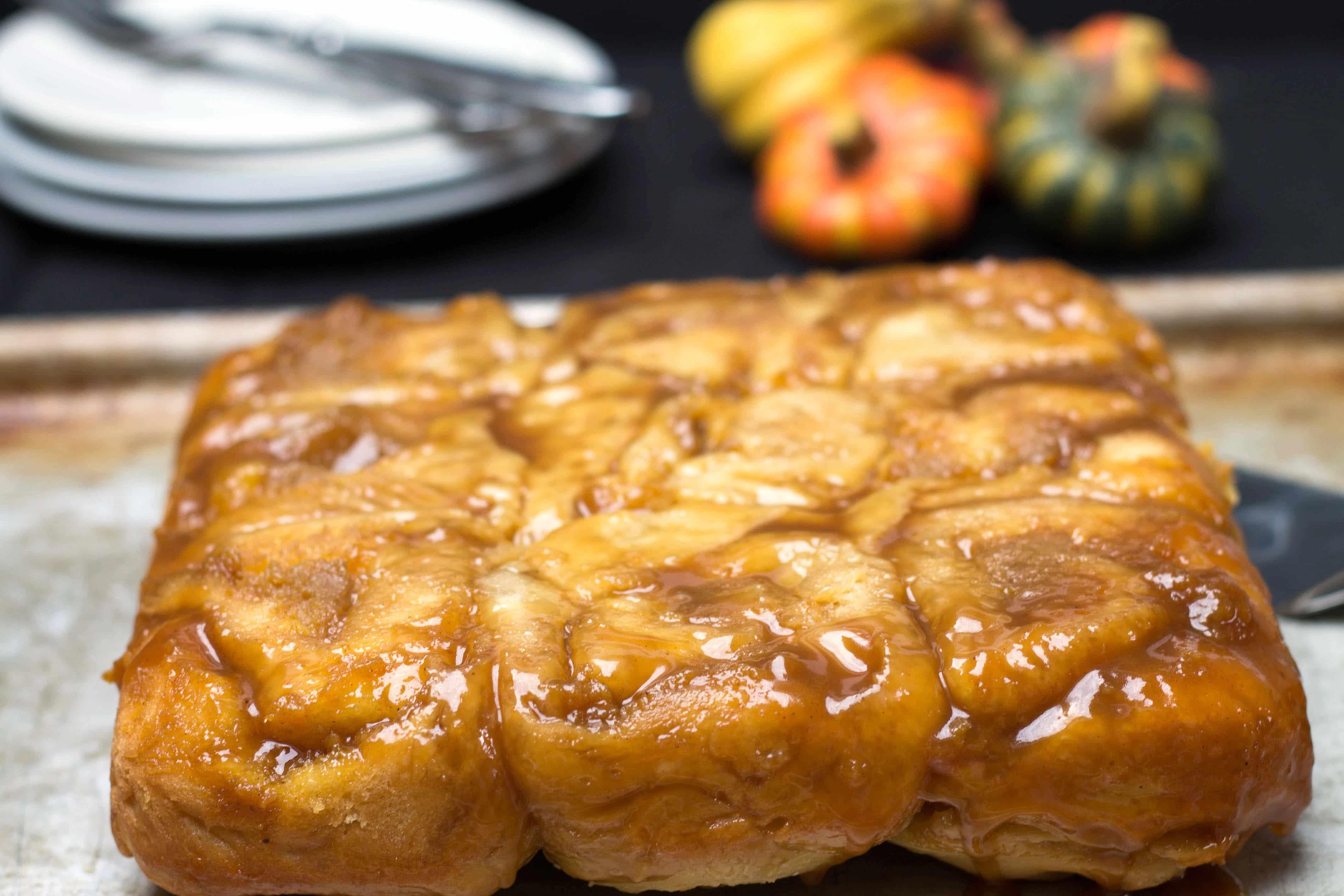 Pumpkin Pie Sticky Buns - Erren's Kitchen