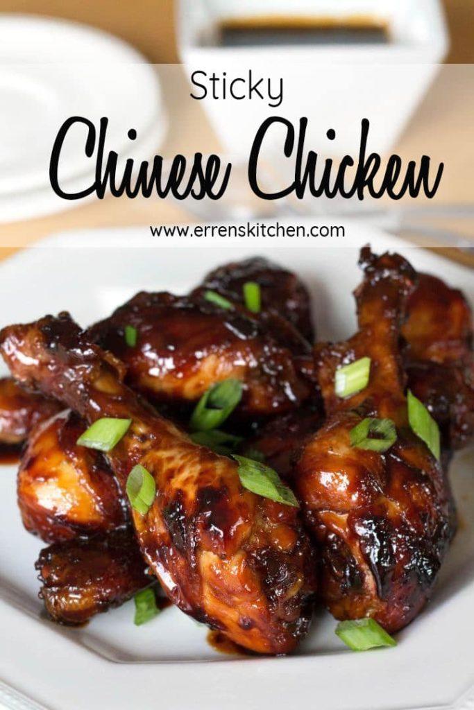 Sticky Chinese Chicken Erren S Kitchen