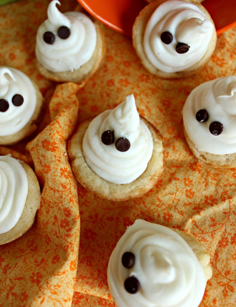 Ghost Cookie Cups