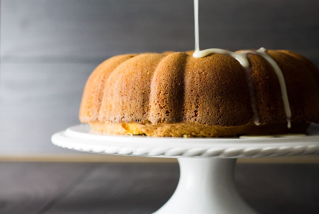Citrus and Olive Oil Bundt Cake - Erren's Kitchen - This delicious cake is completely dairy free; using olive oil keeps this cake really moist and the whipped eggs make it beautifully fluffy .