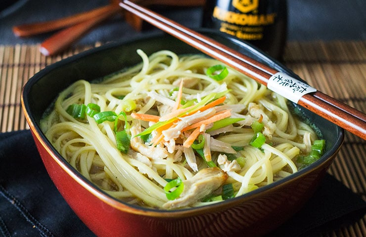 Quick Amp Easy Chinese Chicken Noodle Soup Erren S Kitchen