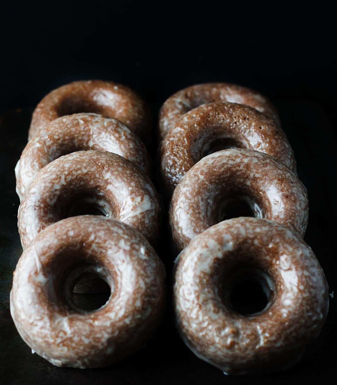 Easy Baked Glazed Chocolate Doughnuts A Sweet Sensation