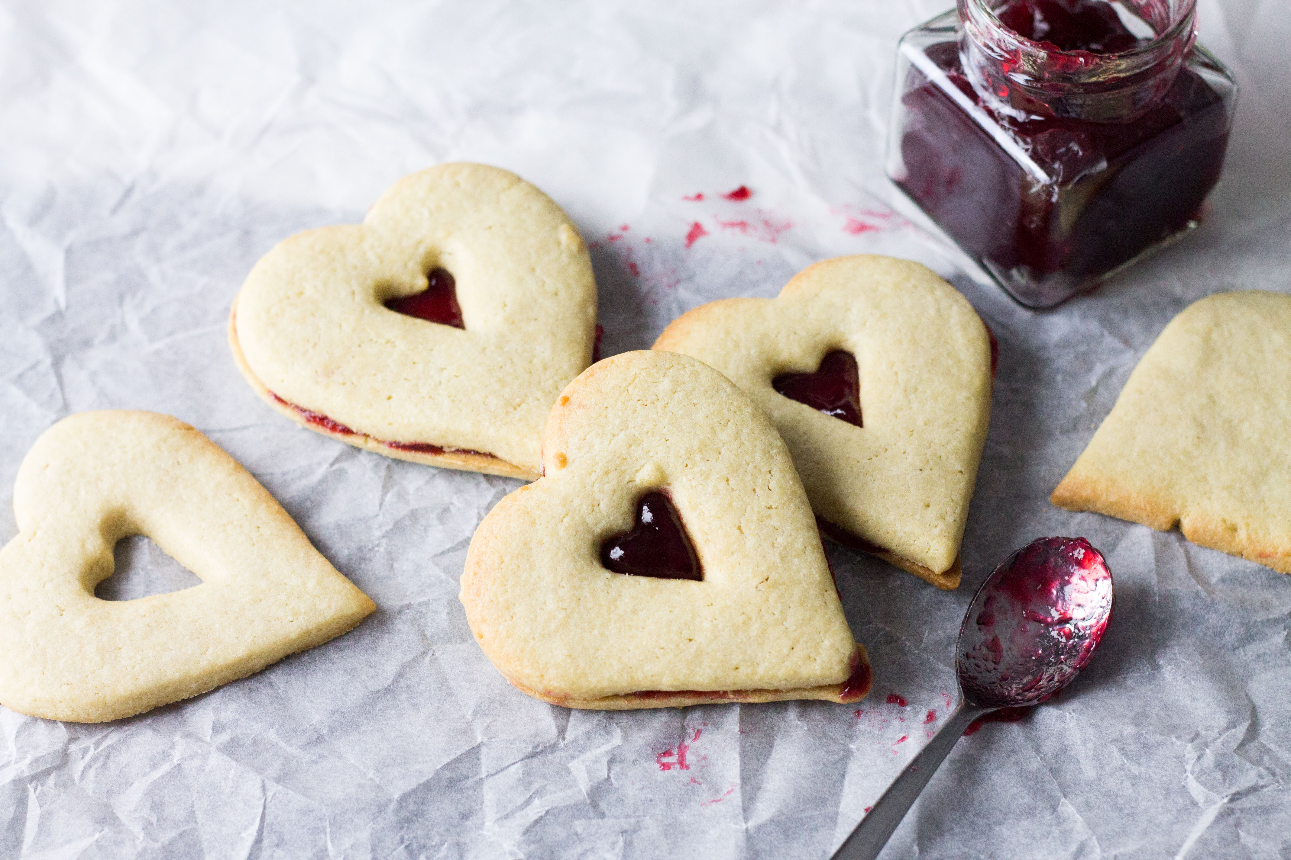 Raspberry Butter Cookies - Erren's Kitchen