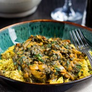 Quick and Easy Sag Bahji {Spinach Curry}