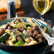 Quick & Easy Roasted Vegetable Pasta