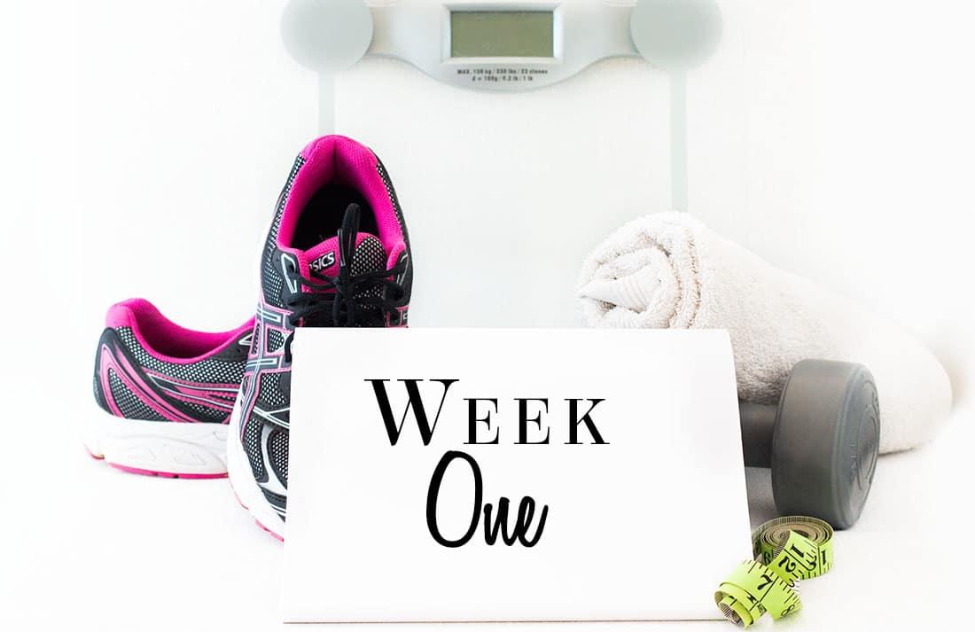 weightloss week one