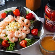 Savor all the flavors of this French inspired recipe from Erren's Kitchen for Catalina Style Peppadew Salad Dressing. This tangy and sweet homemade dressing is Catalina style dressing with a twist.