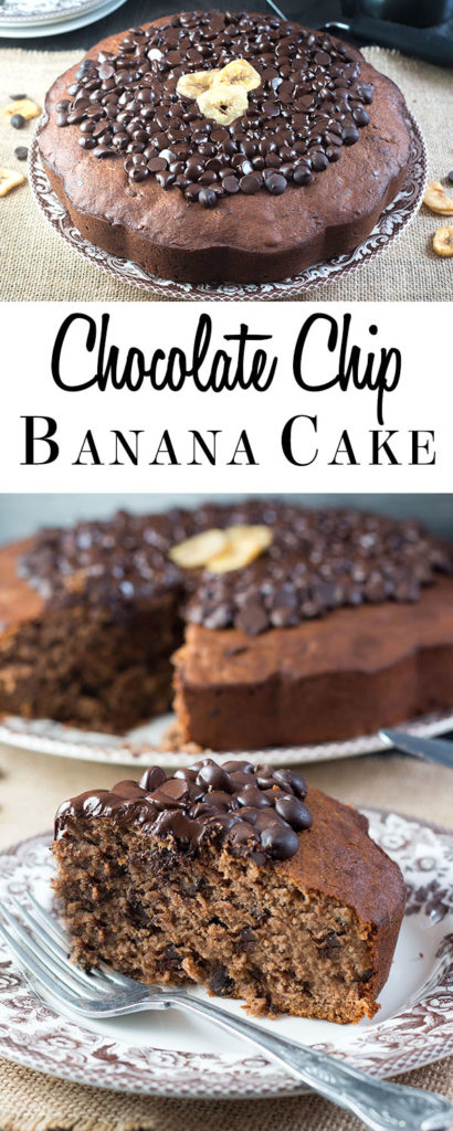 Forget banana bread, use up over-ripe bananas with this impressive recipe from Erren's Kitchen for Chocolate Chip Banana Cake. Just one look at this chocolate and banana treat is enough to know it won't be around for long!