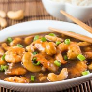 10 Minute Cashew Shrimp
