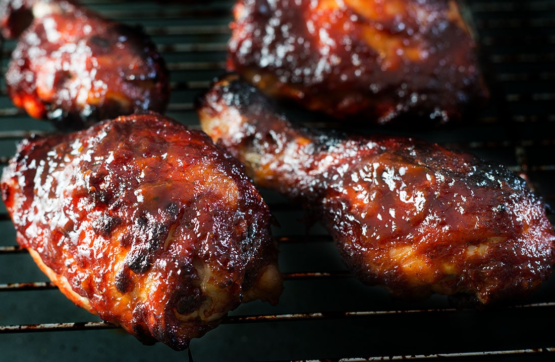 Get sizzling on your grill with this mouthwatering recipe from Erren's Kitchen for Roasted Red Pepper Barbecue Sauce. You can use this quick and easy recipe with chicken, ribs and burgers too.