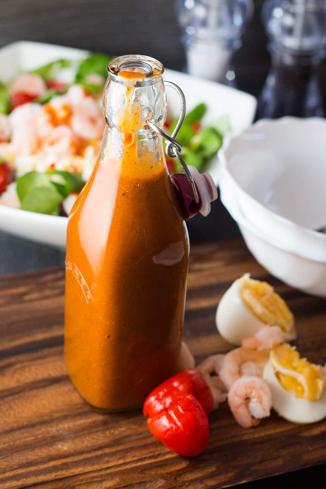 My Catalina Style Peppadew Salad Dressing
