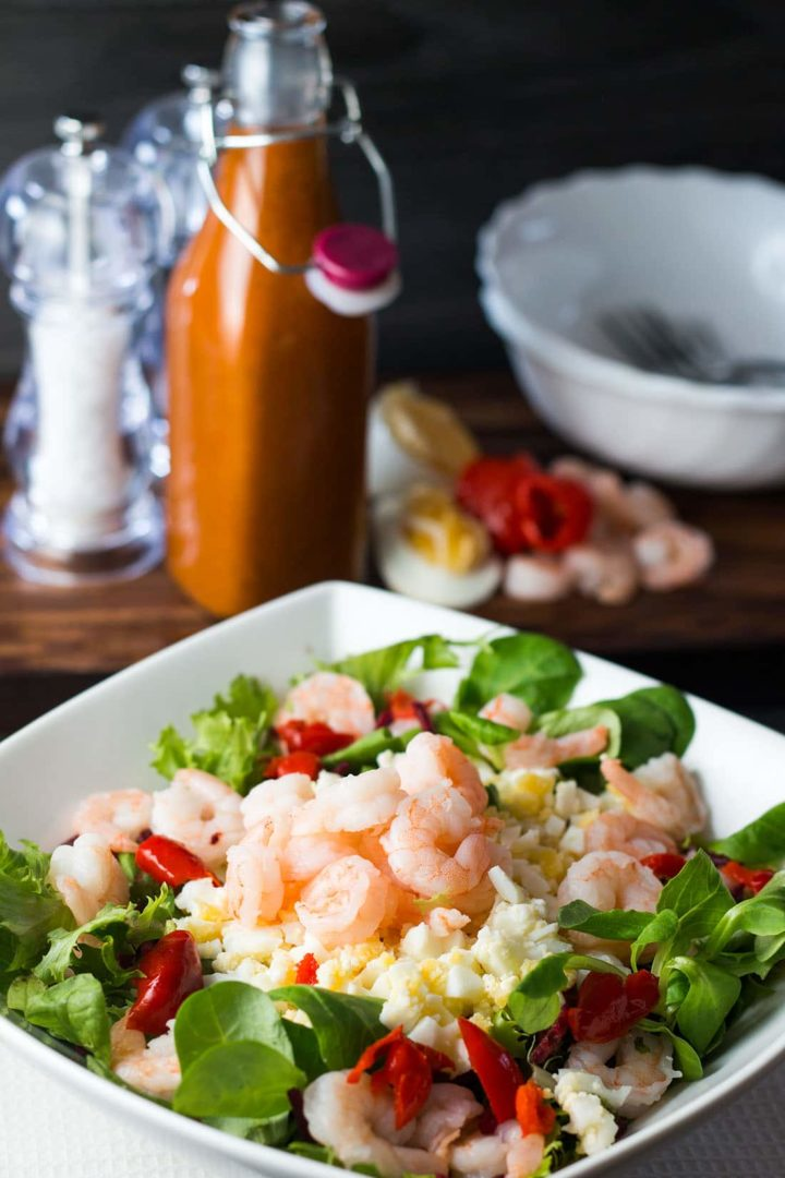 Shrimp and Egg Salad