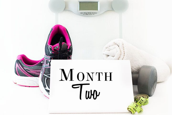 My Weight Loss Journey – Month Two