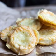 There's no need to make pastry for this recipe for Quick and Easy Cheesy Snack Bites just buy a pack of ready made crust. The leftovers are great for packed lunches and picnics too!