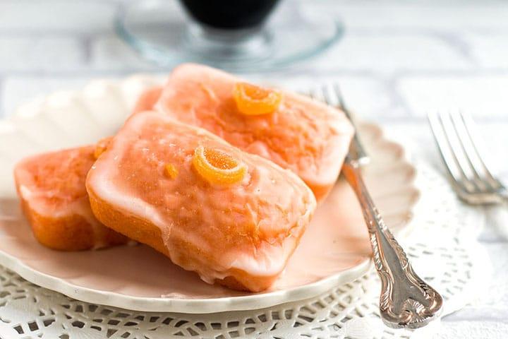 Glazed Orange Cakes