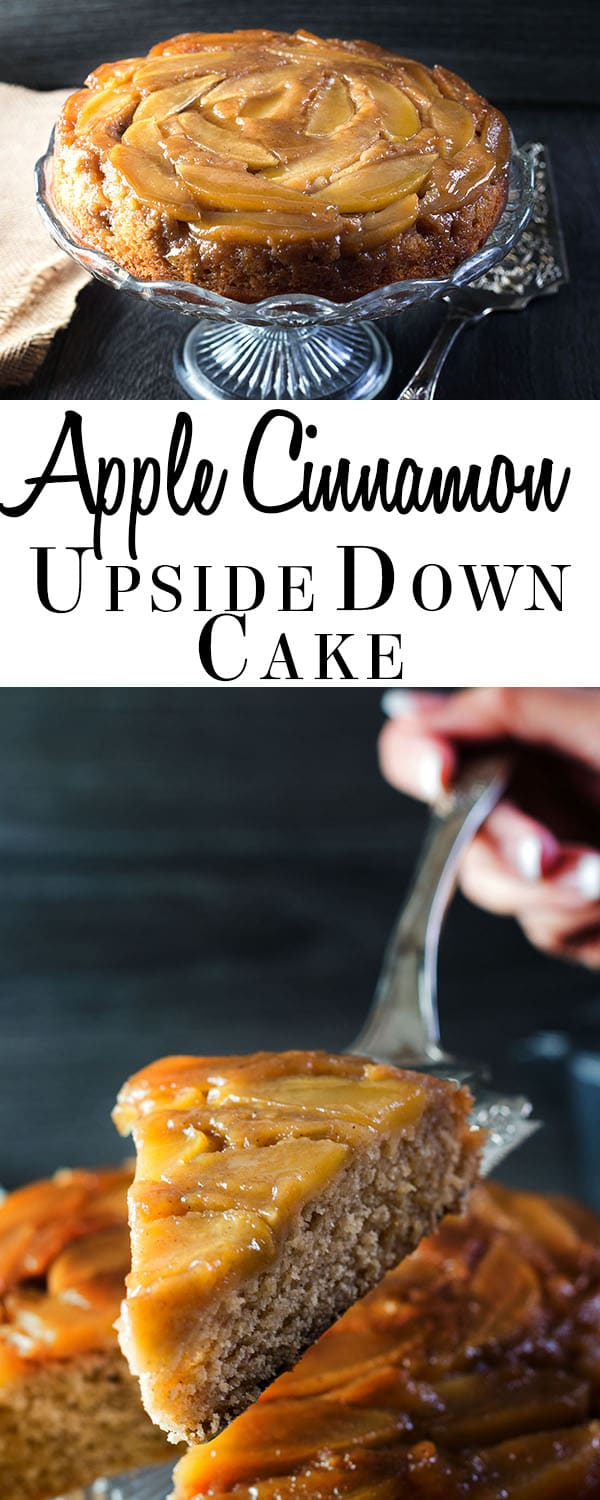 Apple Cinnamon Upside Down Cake - The perfect dessert