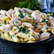 Creamy Chicken and Bacon Pasta