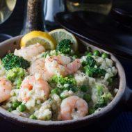 Easy Lemon Shrimp Risotto
