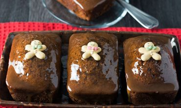 Sticky Toffee Ginger Cakes