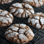 Spiced Ginger Crinkle Cookies