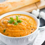 Quick & Easy Carrot and Coriander Soup