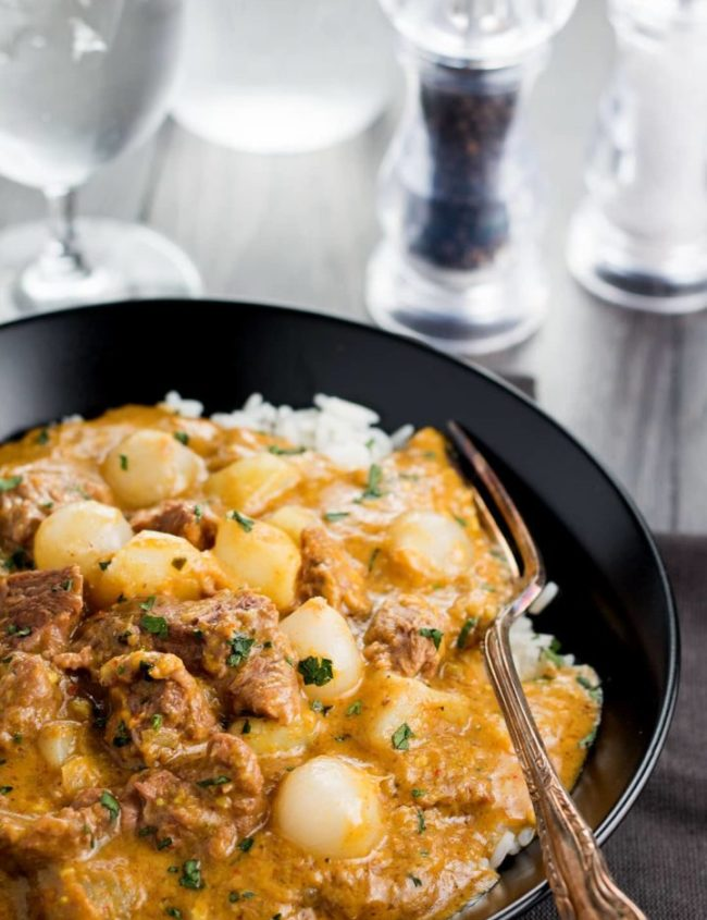 Beef Massaman Thai Curry