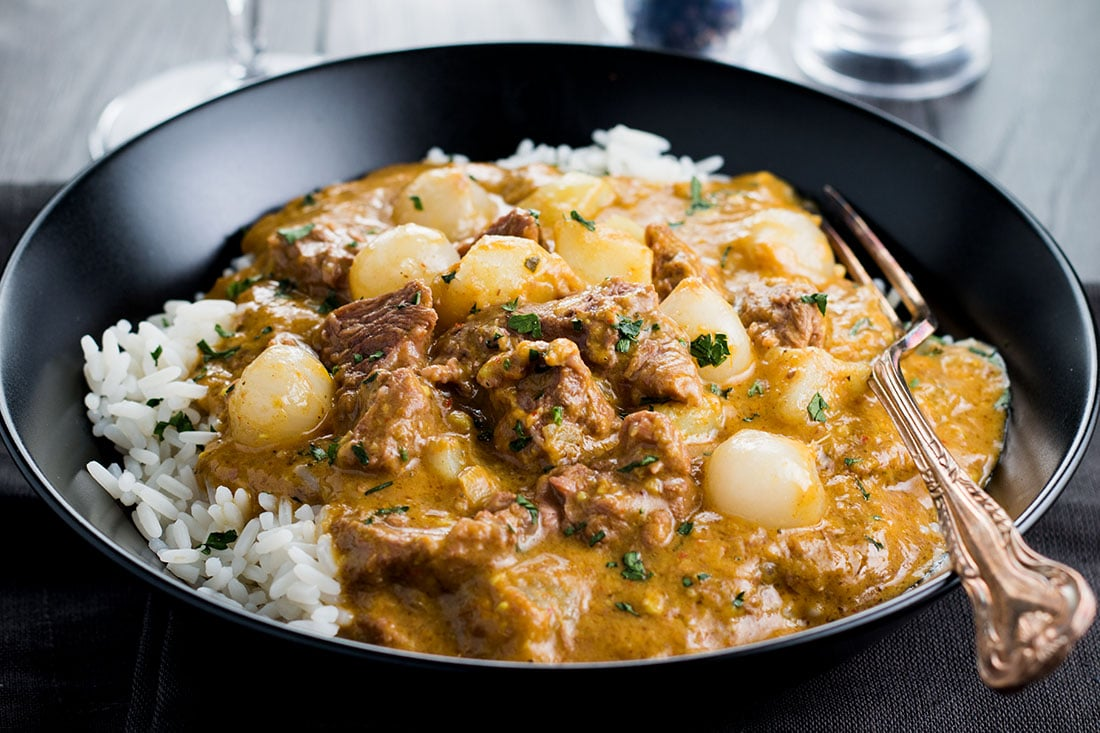 Beef Massaman Thai Curry