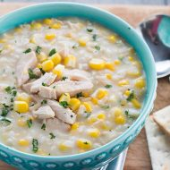 Chicken and Rice Corn Chowder