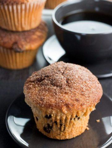 Cinnamon Sugar Jumbo Muffins