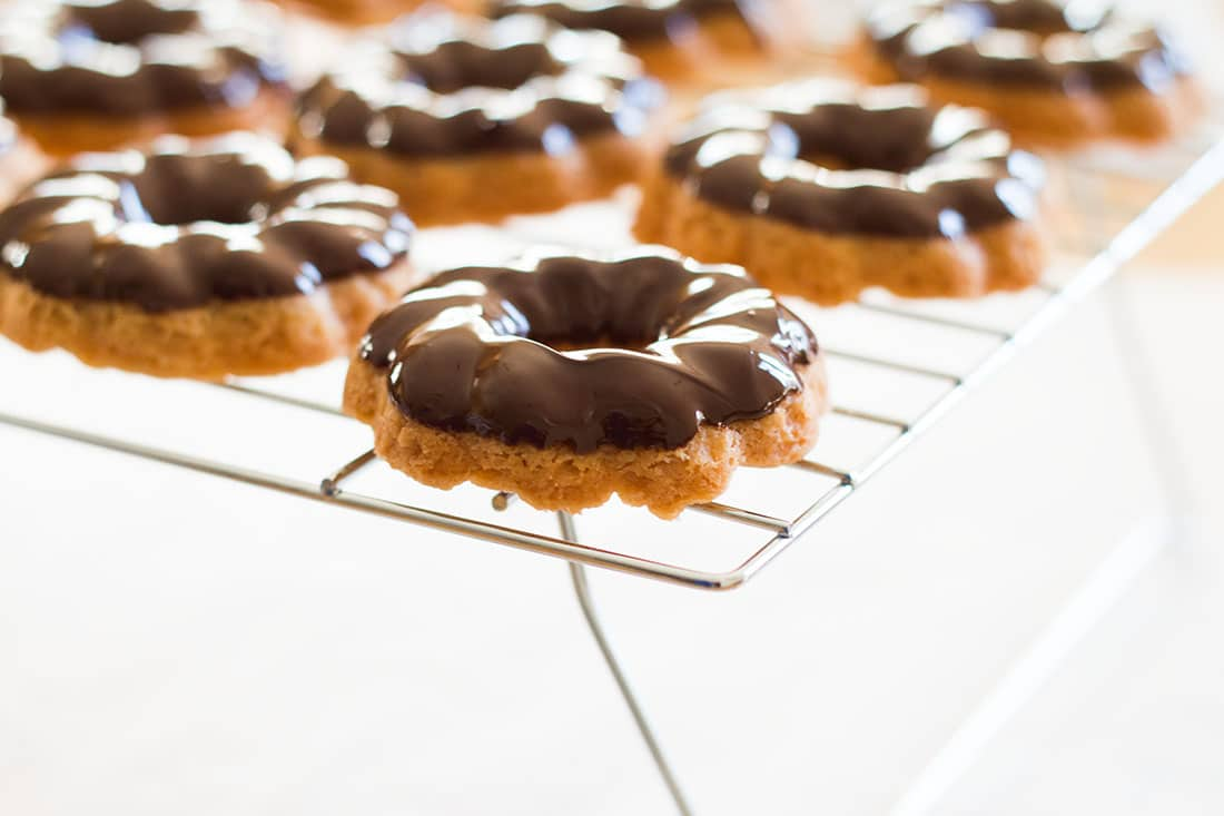 Chocolate Coated Shortbread Cookies