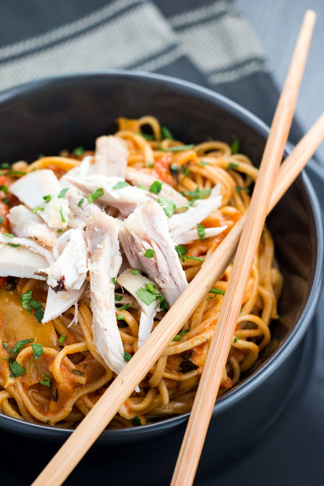 Chicken and Curry Noodles