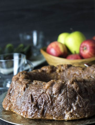 Glazed Apple Bundt Cake