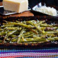 Garlic Roasted Fresh Green Beans