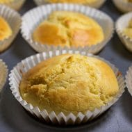 Easy Homemade Corn Muffins