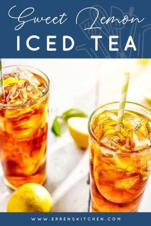Sweet Lemon Iced Tea Erren S Kitchen