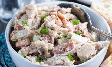 Chicken Salad with Bacon & Green Onions