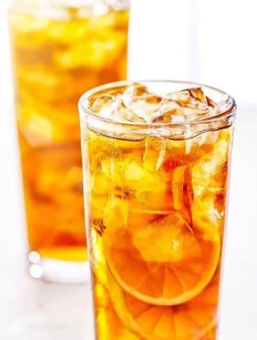 Sweet Lemon Iced Tea