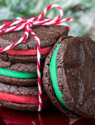 Homemade Oreo Christmas Cookies