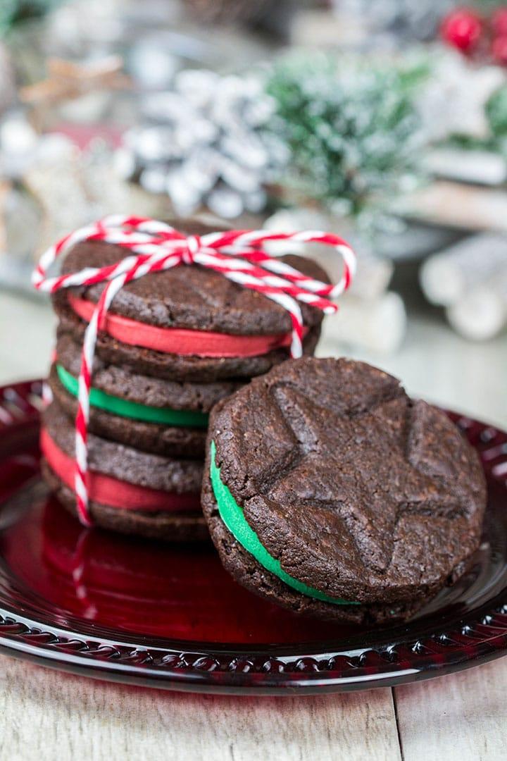 Homemade Oreo Christmas Cookies Erren S Kitchen