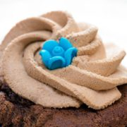 a swirl of Chocolate Cream