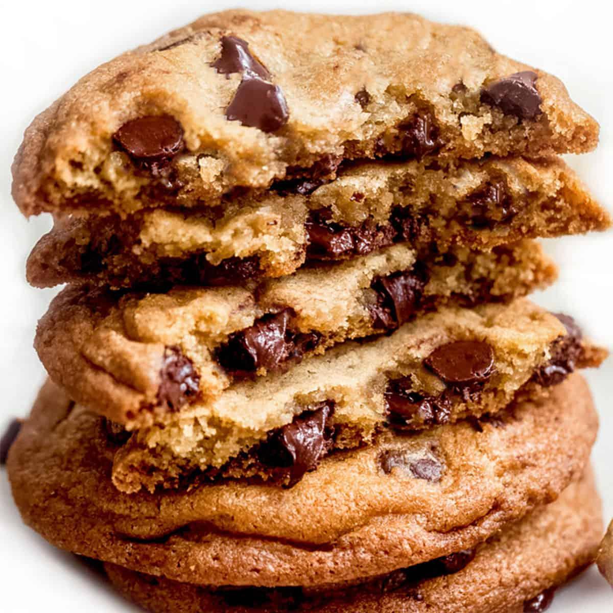 Perfect Homemade Chocolate Chip Cookies | Erren's Kitchen