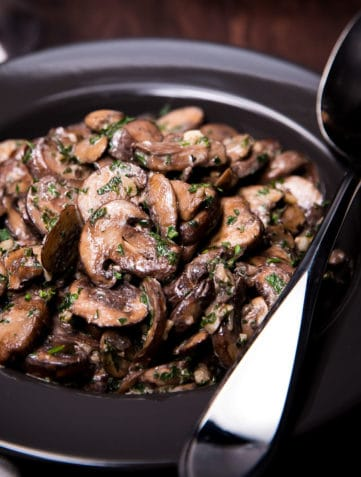 Easy Sautéed Mushrooms
