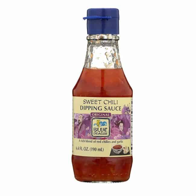 a bottle of Thai Sweet Chilli Dipping Sauce with a white background