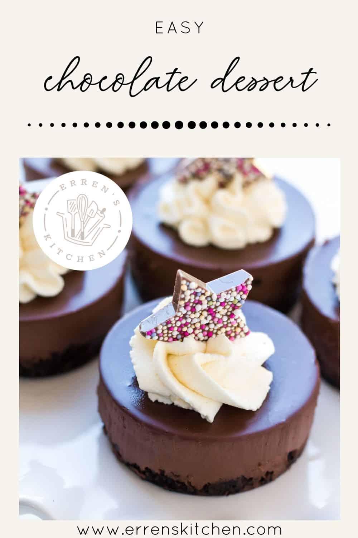 Easy Chocolate Dessert Erren S Kitchen