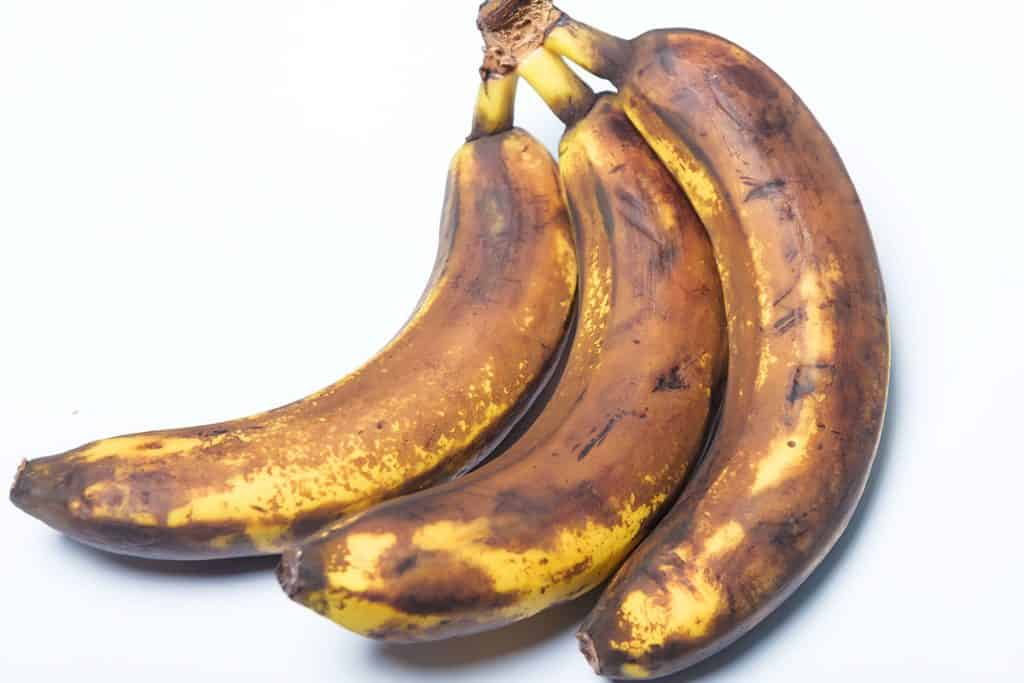 Bananas that are turning black